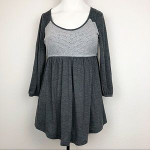 Puella anthropology grey Blouse Size M